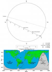 Merkür Geçiş Haritası